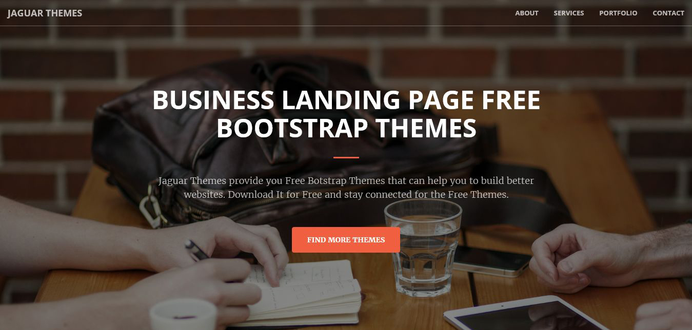 Free Multipurpose business landing page