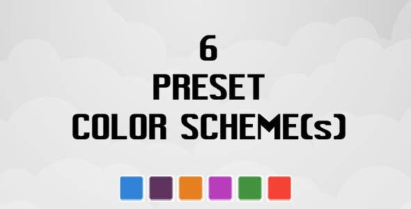 six color option